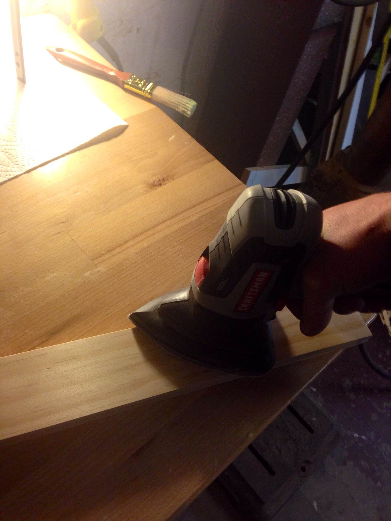 Picture of Prepping the Wood