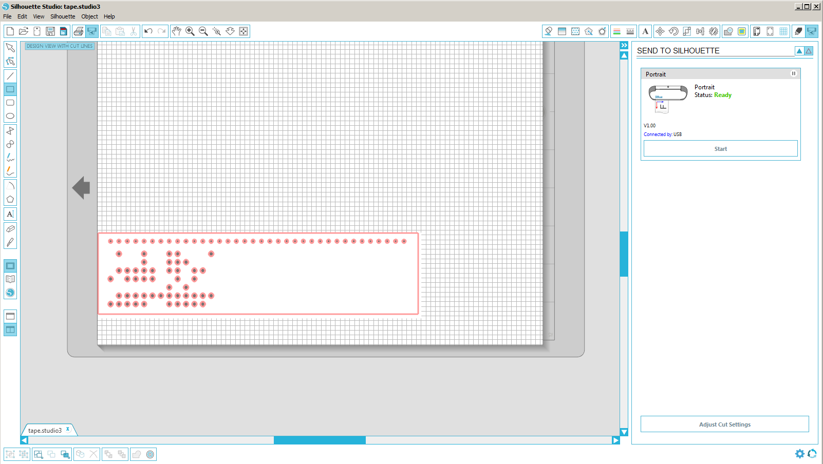 Picture of Print the Paper Tape/punch Card