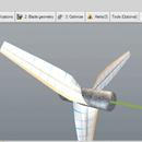Free professional wind turbine blade
