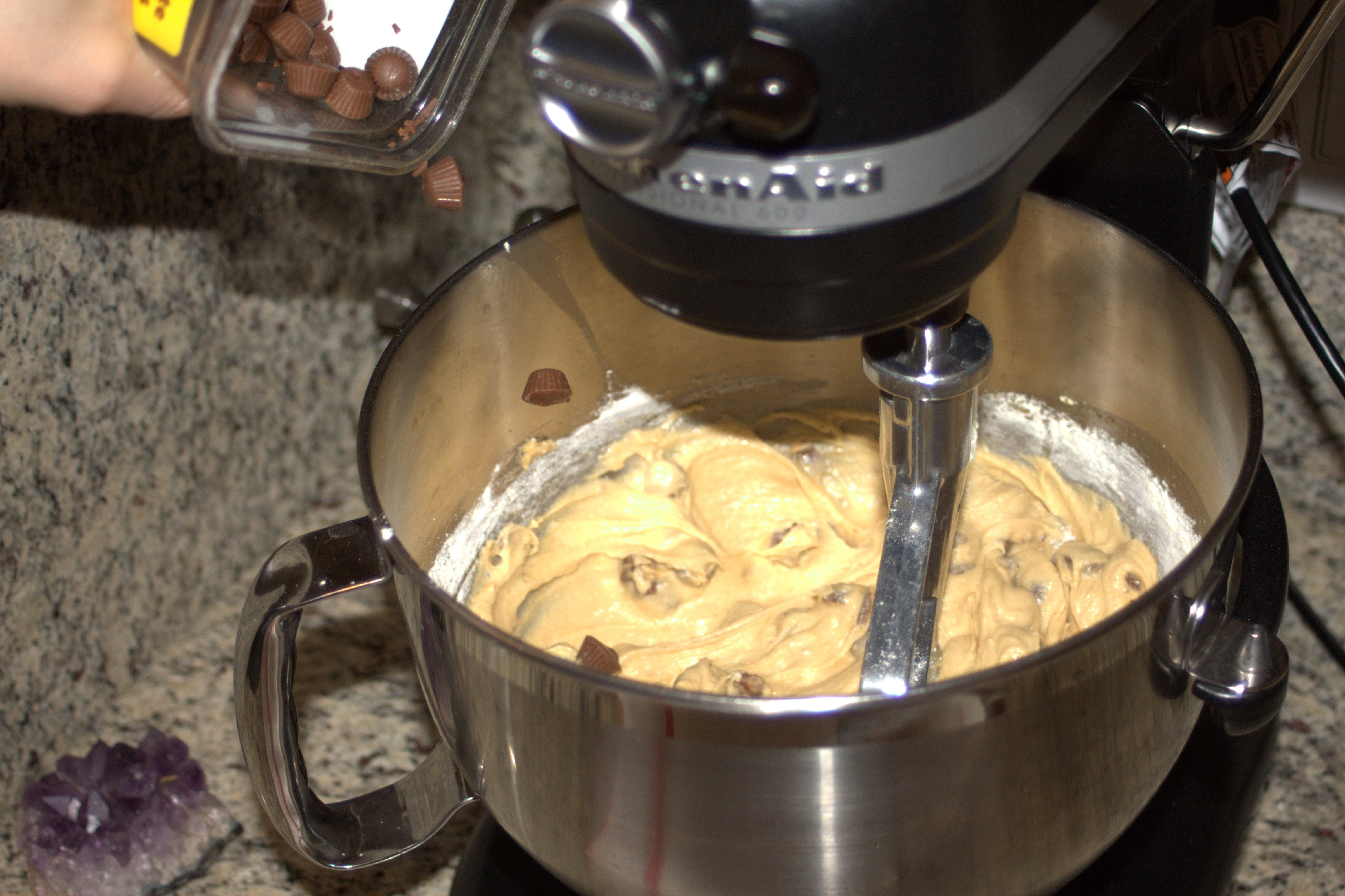 Picture of Micro Peanut Butter Cup Chip Cookies