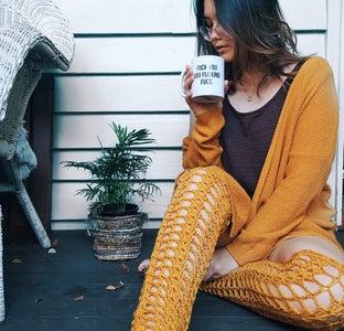 Crochet Witchy Legwarmers