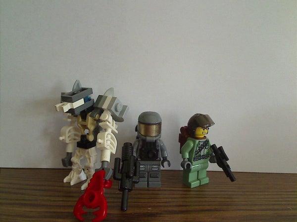 Lego Halo Wars Minifigures