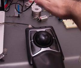 Proximity sensing mouse wheel scroller