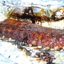 Smoked Ribs in the Smoker