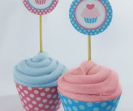 Make Your Own Cupcake Toppers and Wrappers