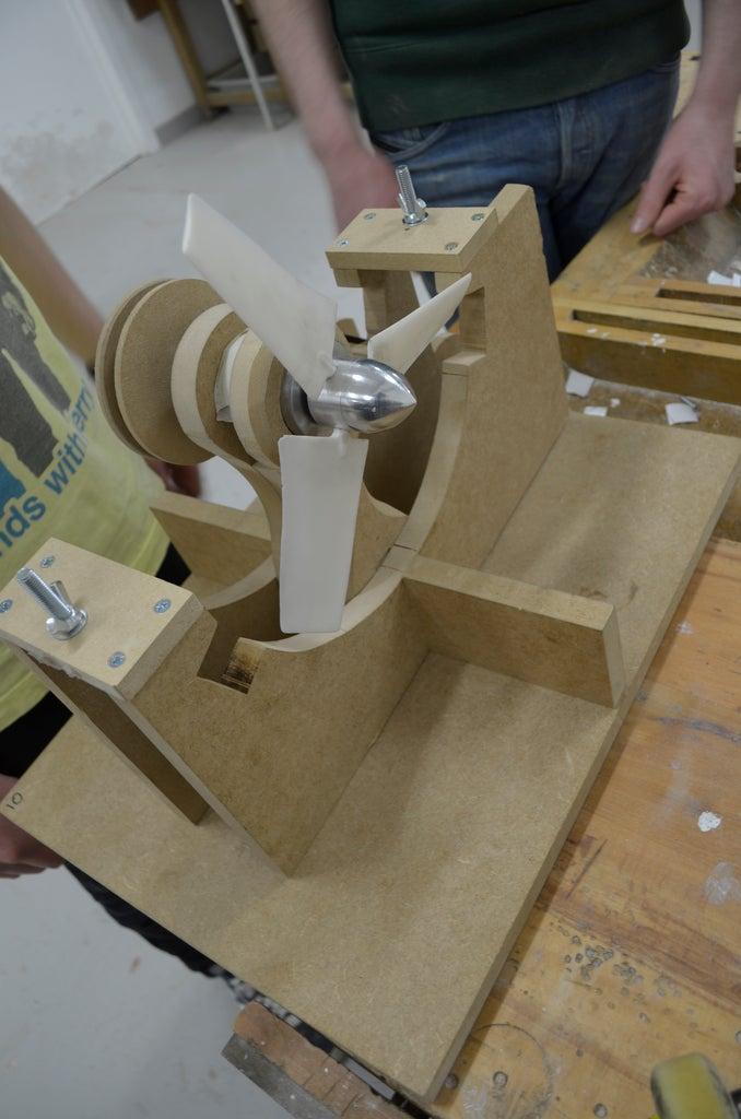Educational Wind Turbine: 4 Steps