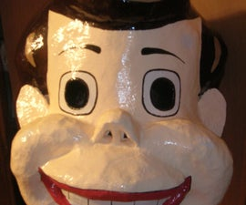 Giant Mask:  Toyman!
