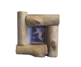 Wooden Log Picture Frame