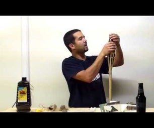 How to Make a Beer Bottle Tiki Torch