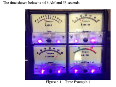 Example Time Display