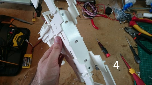 Assembly: LED Front Plate