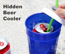Hidden Beer Cooler