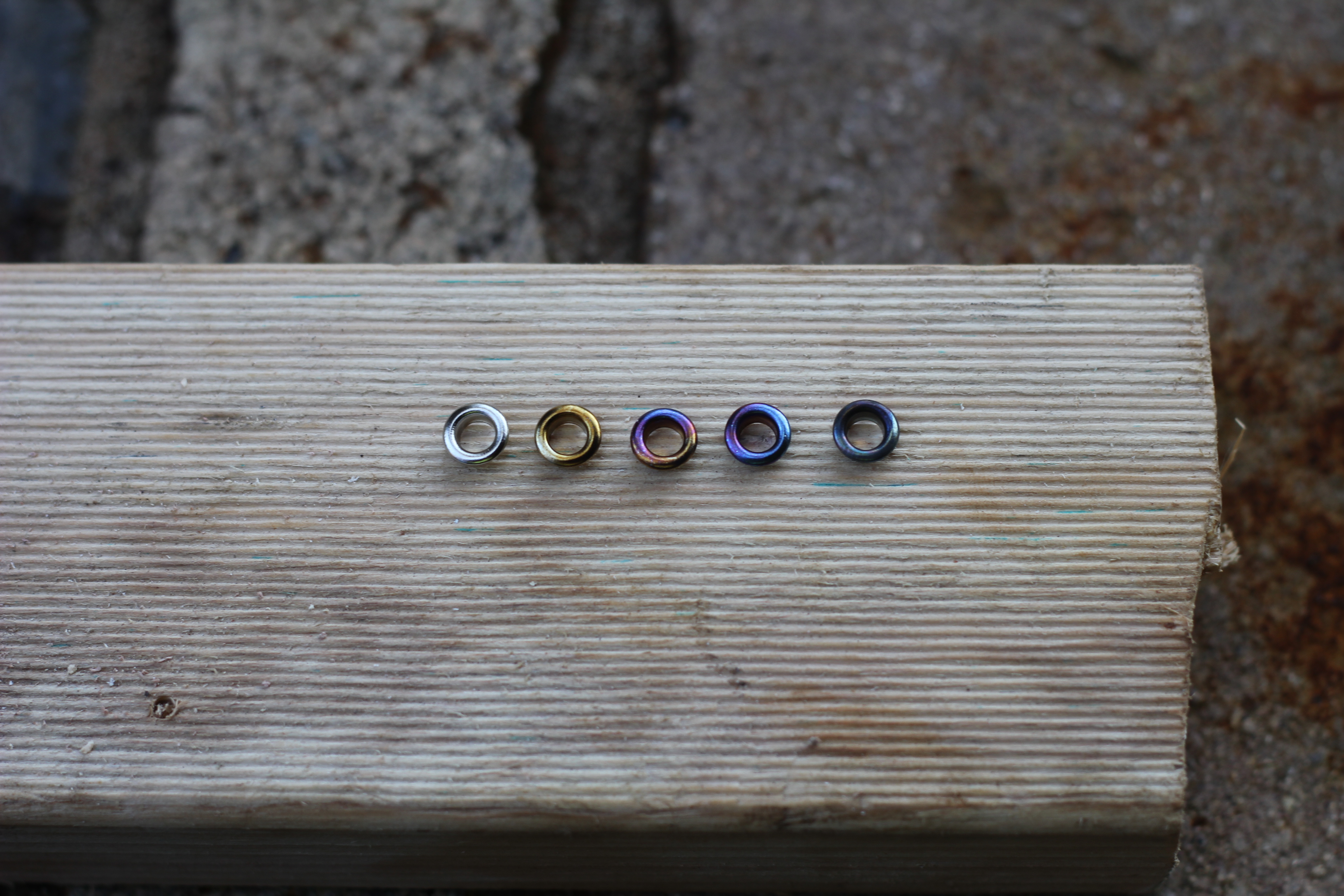 Picture of Preparing Eyelets/Grommets