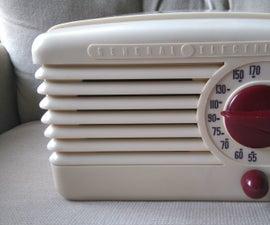 Restore a classic table radio