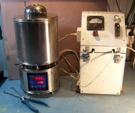 Electric melting crucible furnace