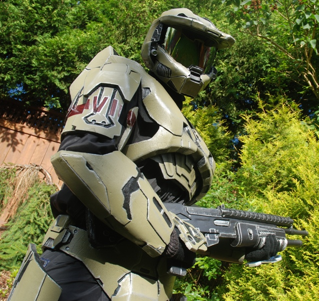Picture of How to Make Foam Halo Armor