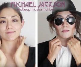 Michael Jackson Makeup Transformation