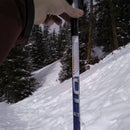 Ski Pole Inclinometer