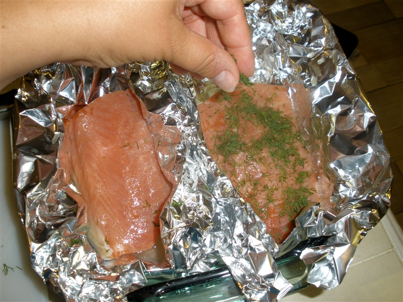 Picture of Baked Salmon