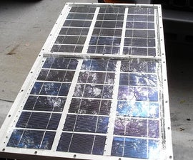 Build a 60 Watt Solar Panel