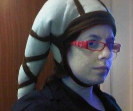 How to make a pair of fleece Twi'Lek Lekku to wear as a hat.