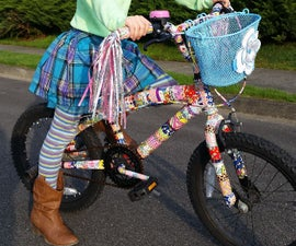 Duct Tape Bicycle Makeover
