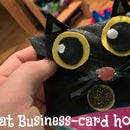 Cat business-card holder / cardcase