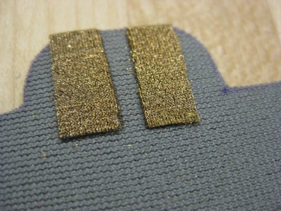 Iron and Fuse Conductive Fabric