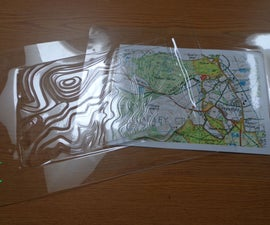 See Through Contour Map