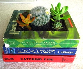 How to Create a Book Planter
