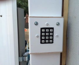 Automatic Gate Keypad Lock