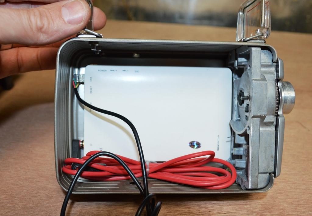 Picture of Adding Switches and Attaching the MP3/5 Player
