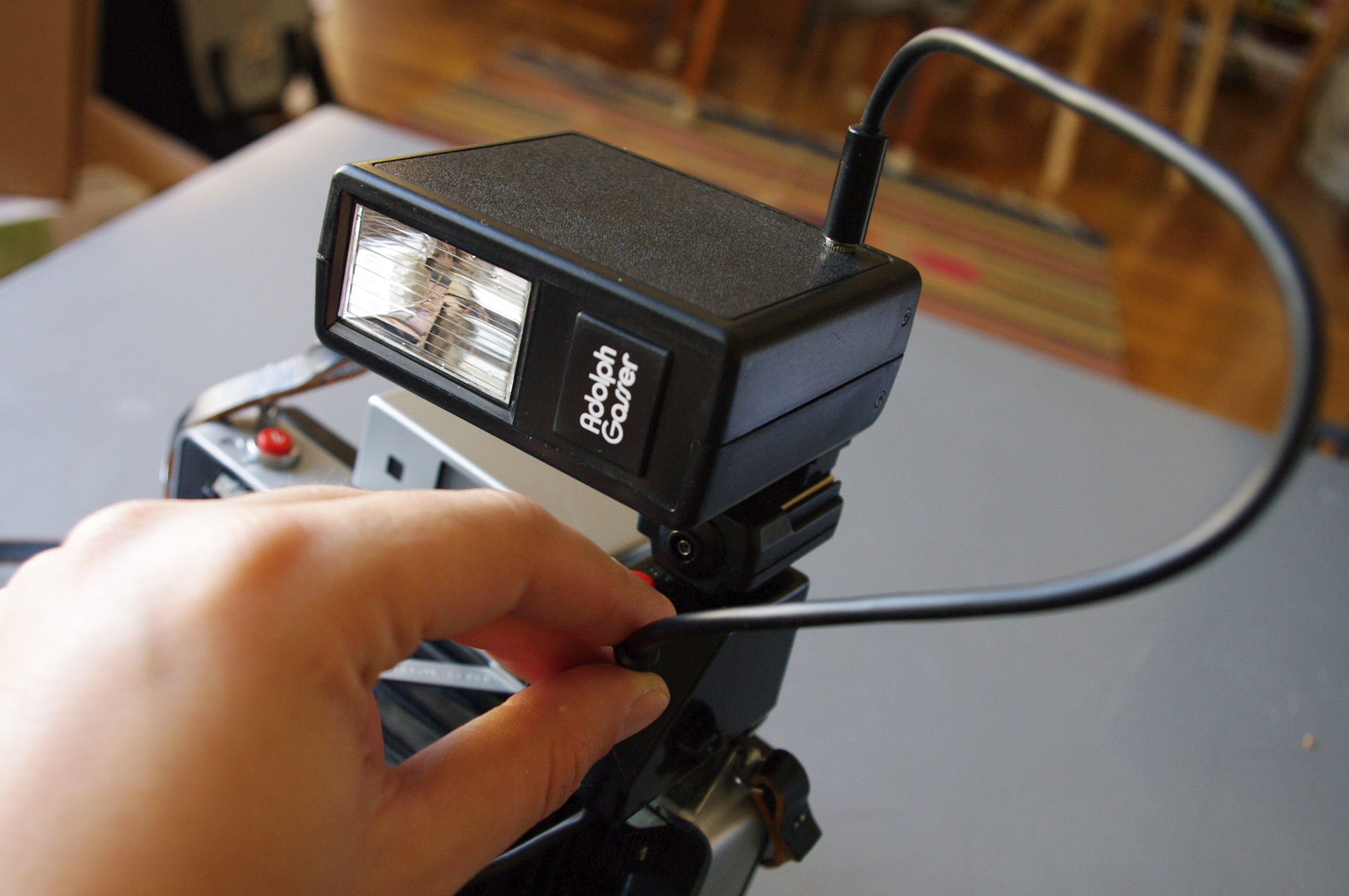 Picture of Using the Electronic Flash