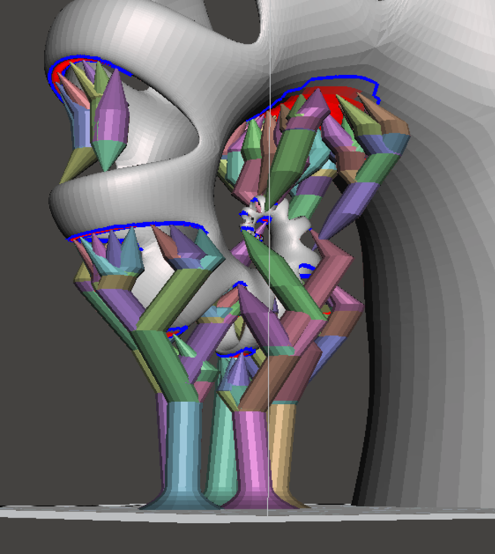 Picture of MeshMixer Support Structures