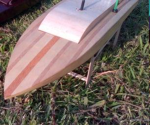 "14,4 "" Balsa Boat Build"