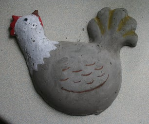 Concrete Chicken (or Anything Else) With Polymorph