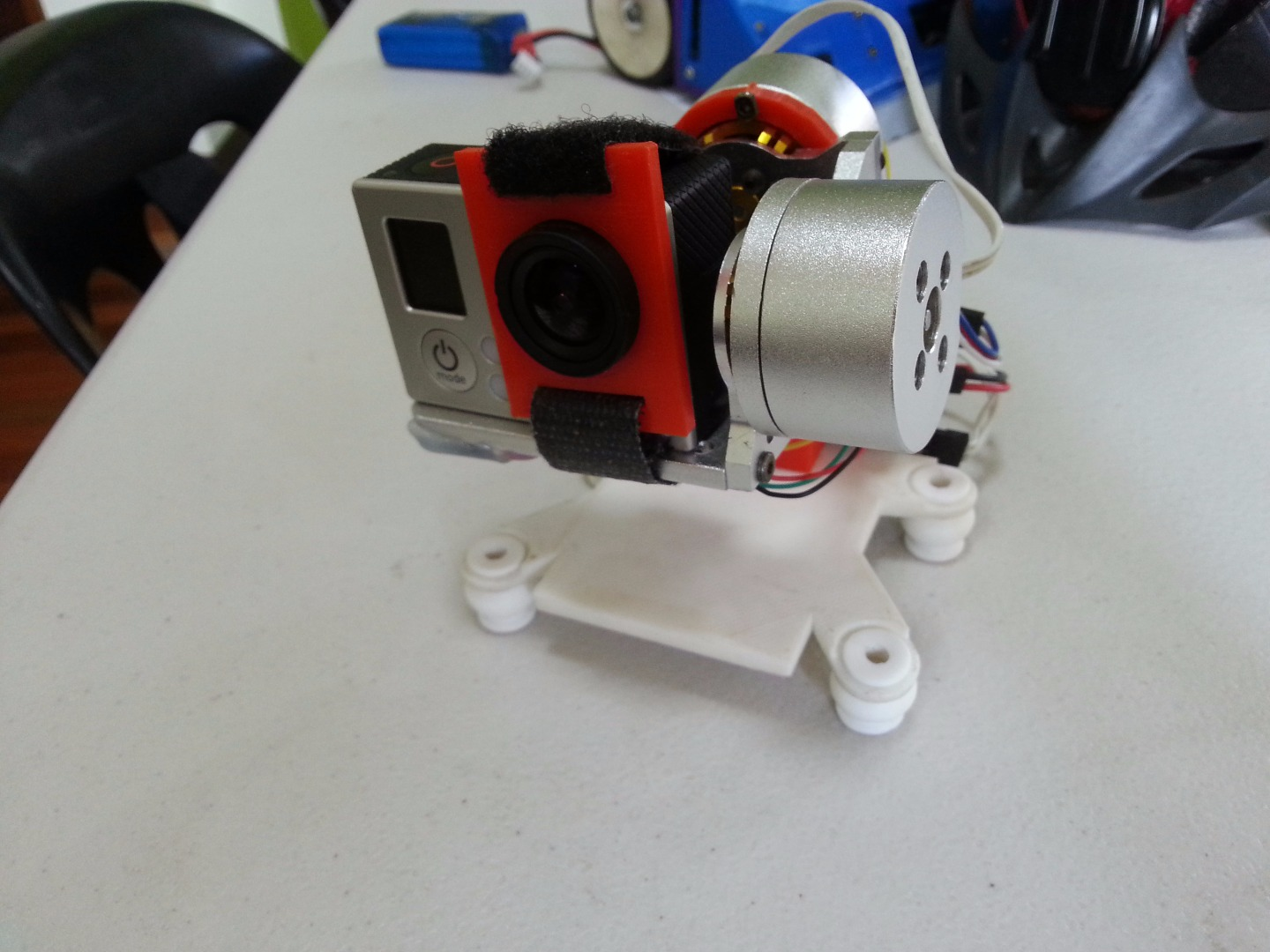 Picture of Battery Holder + Gimbal Plate