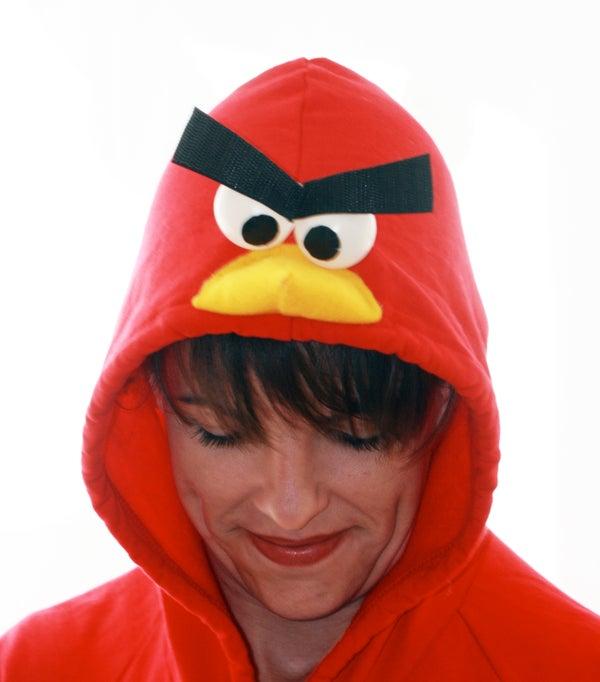 Make an Angry Birds Hoodie
