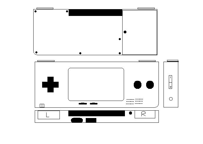 Picture of how easy would this be to do? it's a GBA case mod?