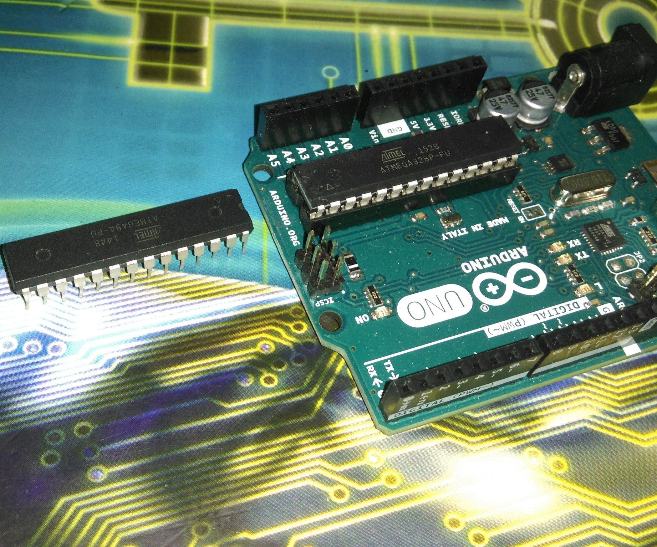 An Advanced Approach To Arduino Avr Programming 7 Steps The Hardware Is Implemented By Using A Atmega88 Microcontroller