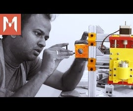PCB Mill - 04 - Y Axis and Motor Mount