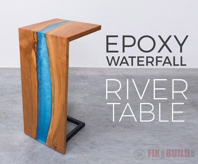Picture of Finish and Assemble the Epoxy Resin River Table