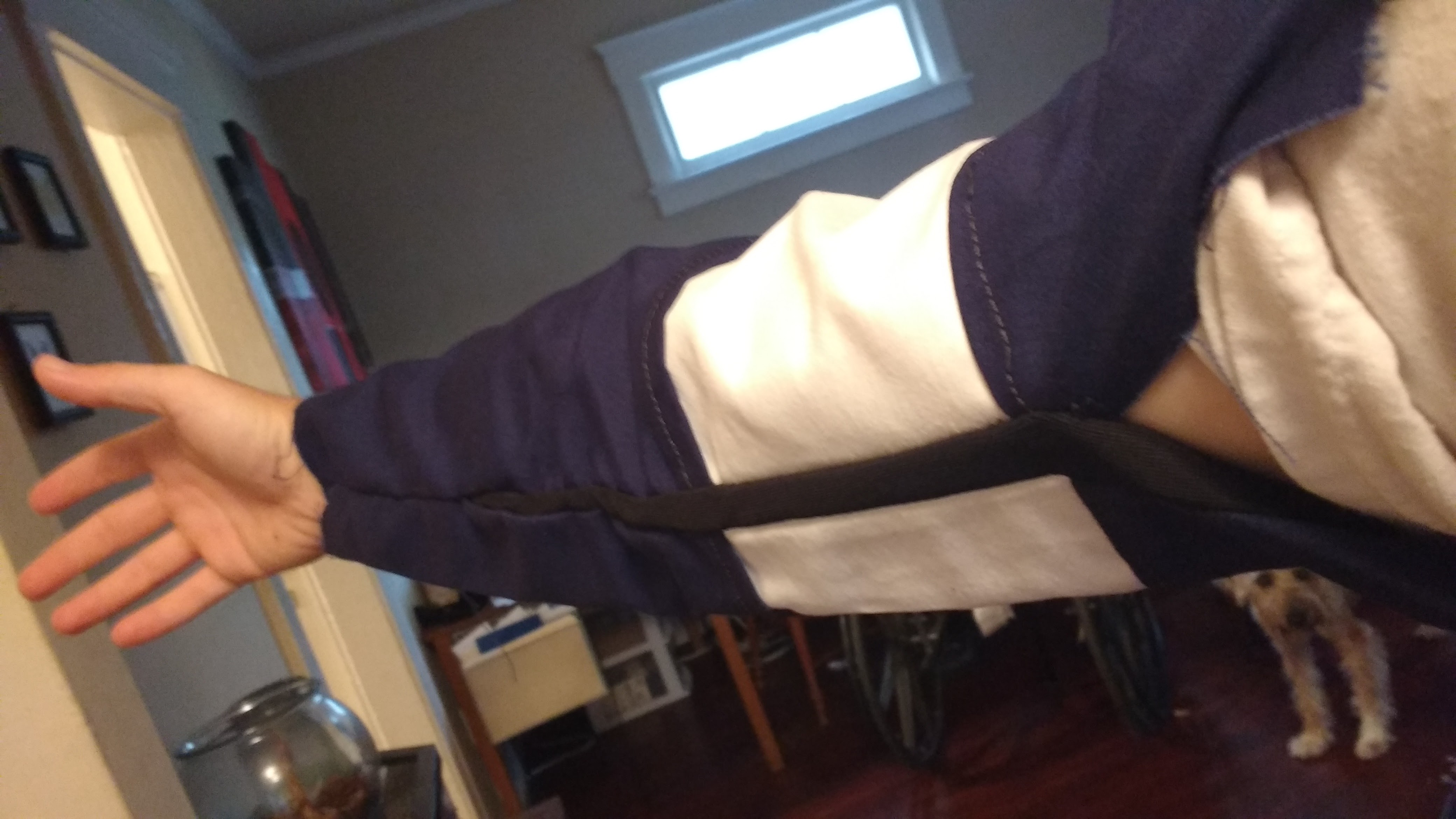 Picture of Attaching the Sleeves