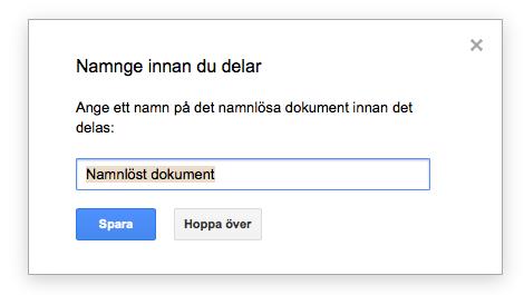 Namnge Ditt Dokument