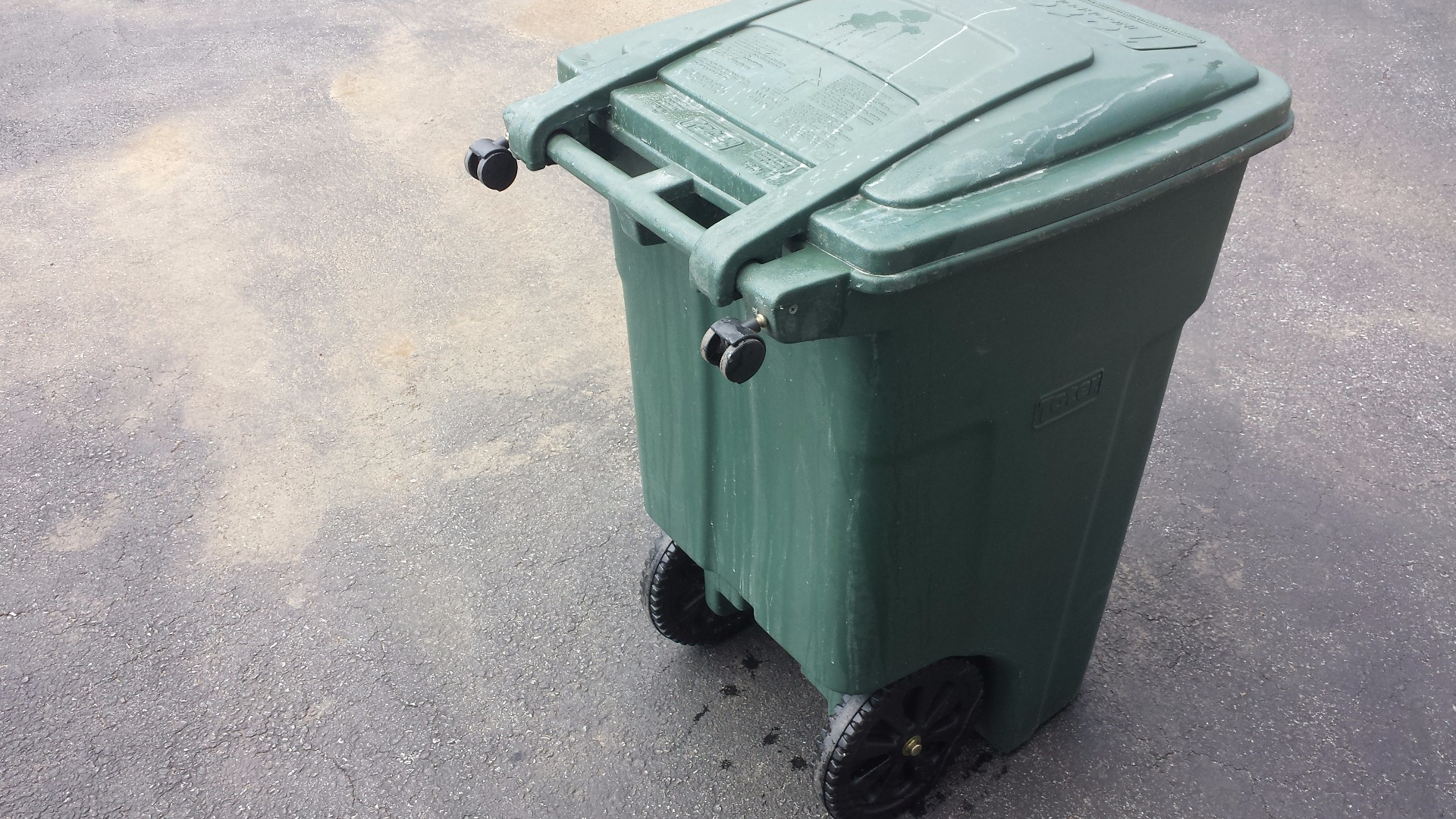 Picture of Trash Can Riding