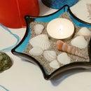 Beach Candle Beautiful & Relaxing DIY