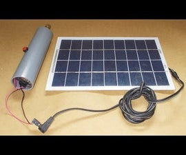 Homemade PCB Drill DIY Free Energy Generator Battery Solar Charge