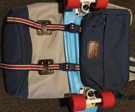 Cheap DIY Skateboard Backpack