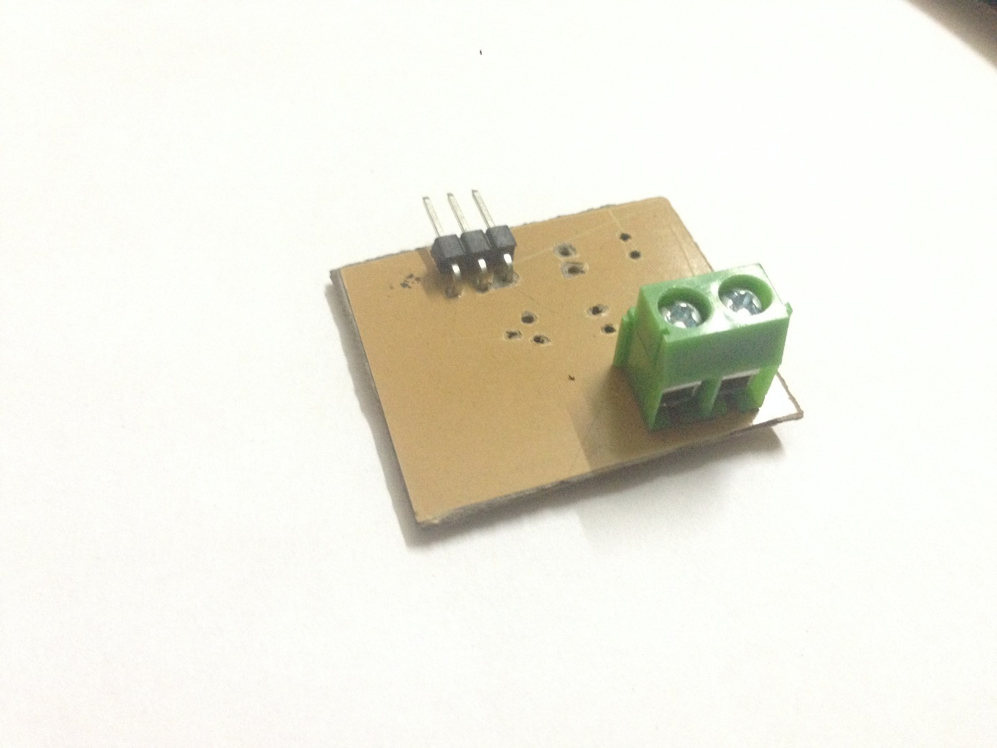 Picture of Solder Right Angle Header