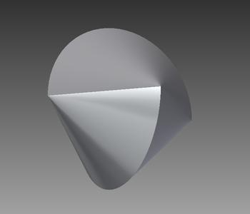 3D Printing a Transparent Sphericon